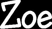 Zoe name tag