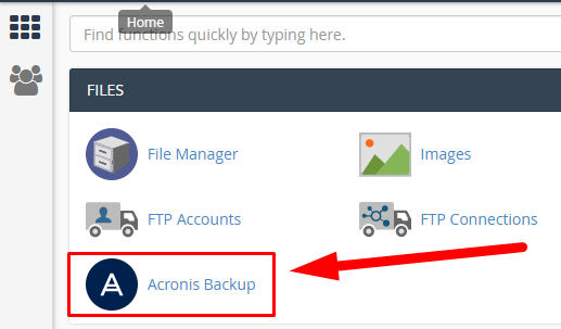 Acronis - Select Zuver
